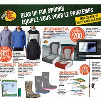 Bass Pro Shops - Gear Up For Spring Flyer