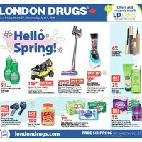 London Drugs - 6 Days of Savings - Hello Spring! Flyer