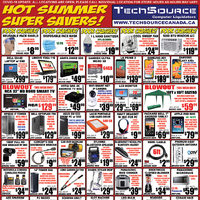 Tech Source - Hot Summer Super Savers! Flyer