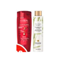 Fructis Dry Shampoo, Pantene Blends, L'Oreal Hair Expertise Shampoo or Conditioner