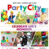 Party City - Celebrate Life's Moments Flyer