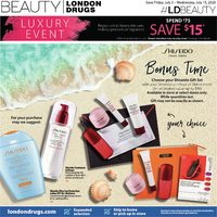 London Drugs - Luxury Beauty Event Flyer