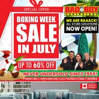 - Boxing Week Sale In July Flyer