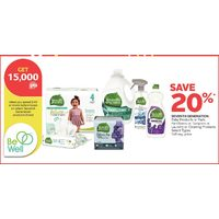 Seventh Generation Baby Products Or Pads, Pantiliners Or Tampons Or Laundry Or Cleaning Products