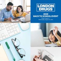 London Drugs - 2020 Back To School Event Flyer
