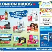 London Drugs - 6 Days of Savings - Find It All At London Drugs Flyer