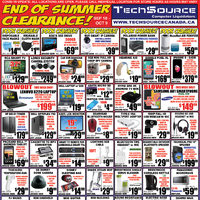 - End Of Summer Clearance! Flyer