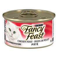 Fancy Feast and Elegant Meldley's Cat Food