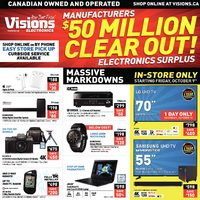 - Manufacturers $50 Million Clearout! Electronics Surplus Flyer