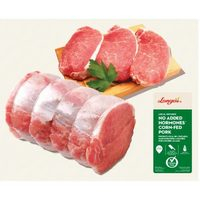 Longo's Boneless Pork Loin Centre Cut Chops or Roast
