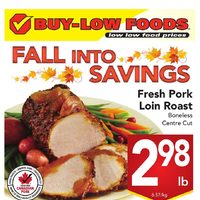 Buy-Low Foods - Weekly - Fall Into Savings Flyer