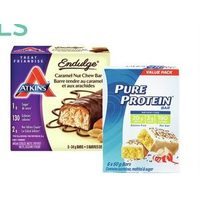 Atkins or Pure Protein Bars