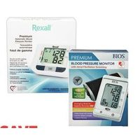Rexall Brand or Bios Blood Pressure Monitors