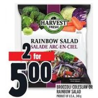 Broccoli Coleslaw or Rainbow Salad