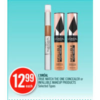 L'oreal True Match The One Concealer Or Infallible Makeup Products