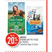 Nestle Purina Dry Pet Food Or Treats