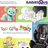 Babies R Us - Weekly - Top Gifts Flyer