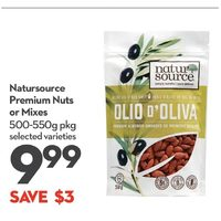 Natursource Premium Nuts Or Mixes
