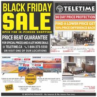 Teletime - Black Friday Sale Flyer