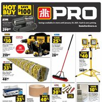Home Hardware - Pro Savings Flyer