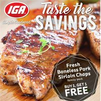 MarketPlace IGA - Weekly Specials - Taste The Savings Flyer