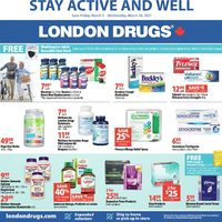 London Drugs - Stay Active & Well Flyer