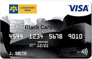 Laurentian Bank VISA® Black Reward Me Card