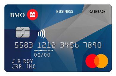 BMO CashBack® Business Mastercard®*