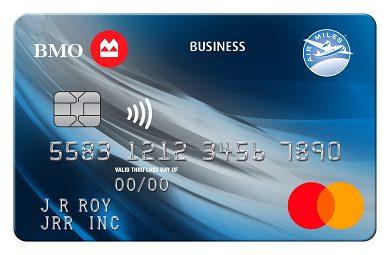 BMO AIR MILES®† No-Fee Business® Mastercard®*