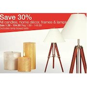 Home Outfitters 30% Off All Candles, Home Decor, Frames U0026 Lamps 30% Off All  Candles, Home Decor, Frames U0026 Lamps
