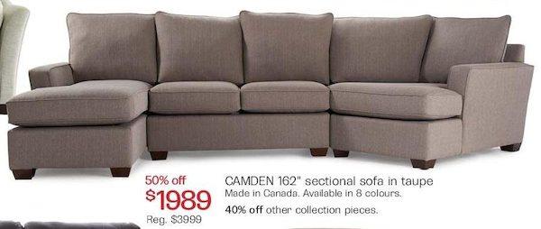 The Camden Sofa Bay