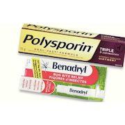 Walmart: Polysporin Cream 15g or Benadryl Itch Stick or