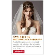Save $400.00 On Wedding Accessories