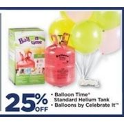 Michaels: Balloon Time, Standard Helium Tank, Balloons by