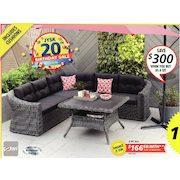 Jysk Boracay Corner Sofa Set 2 Pc Set Redflagdeals Com