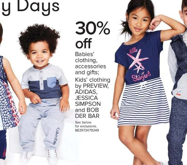 5e8e2c4b4 The Bay Babies' Clothing, Accessories and Gifts; Kids' Clothing by Preview,  Adidas and More - 30% off Babies' Clothing, Accessories and Gifts; ...