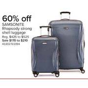 Samsonite Rhapsody Strong Shell Luggage - From $170.00 (60% off)