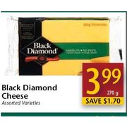 Black Dimond Cheese - $3.99/270 g ($1.70 off)