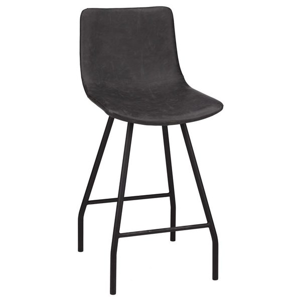 Tremendous Bouclair Faux Leather And Metal Bar Stool Redflagdeals Com Gmtry Best Dining Table And Chair Ideas Images Gmtryco