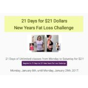 21 Days for $21.00 New Year's Fat Loss Challenge