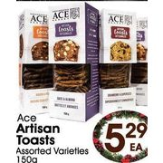 Ace Artisan Toasts  - $5.29