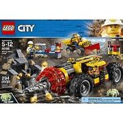LEGO City Mining Mining Heavy Driller