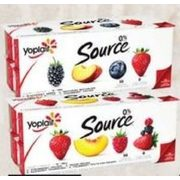 Liberte Greek Yogurt, Yoplait Creamy Or Source Yogurt  - $5.99
