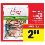 Anchor's Bay Seafood Medley - $2.98 ($1.02 off)
