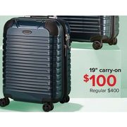 "London Fog Dover 19"" Carry-On - $100.00"