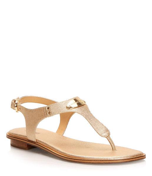 641d27625 Browns shoes Michael Michael Kors - Mk Plate Thong -  119.98 ( 18.02 Off)  Michael Michael Kors - Mk Plate Thong