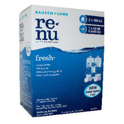 Renu Fresh Contact Lens Solution - $11.99 ($4.00 off)