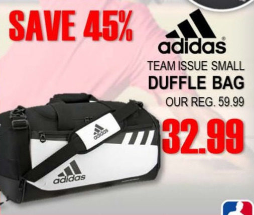 National Sports  Adidas Team Issue Small Duffle Bag - RedFlagDeals.com ec740443db90f