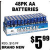 AA Batteries - $5.99