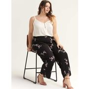 Pull-on Wide-leg Ankle Pant - Michel Studio - $29.99 ($39.01 Off)